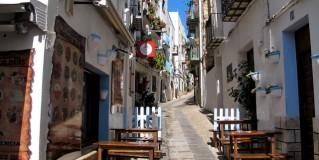 Un lugar  mágico, el Casco Antiguo  de Peñíscola.