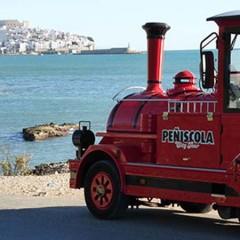El tren city tour, una forma original de conocer los rincones más mágicos de Peñiscola
