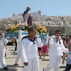 San pedro, el patron de los marineros en Peñiscola