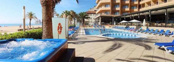 Hotel Peñiscola palace, lujo en primera línea de playa