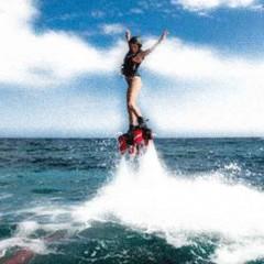 Descarga adrenalina volando sobre el mar con ismajet flyboard